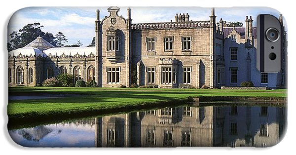 Reflections Of Sky In Water iPhone Cases - Kilruddery House And Gardens, Co iPhone Case by The Irish Image Collection