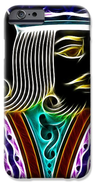 King of Spades - v4 iPhone Case by Wingsdomain Art and Photography