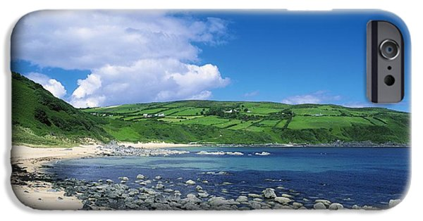 Recently Sold -  - Agricultural iPhone Cases - Kinnagoe Bay, Inishowen, Co Donegal iPhone Case by The Irish Image Collection