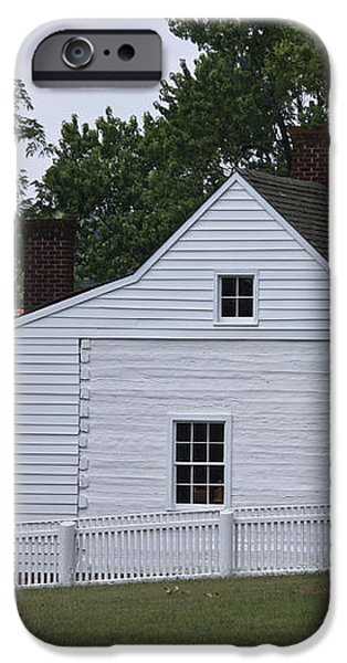 Kitchen and Slave Quarters Appomattox Virginia iPhone Case by Teresa Mucha