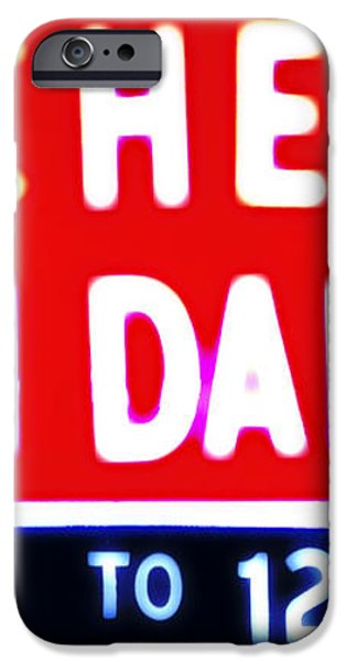 Kitchen Open Daily iPhone Case by Bill Cannon