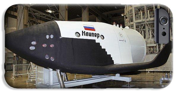 Spaceplane iPhone Cases - Kliper Spacecraft iPhone Case by Ria Novosti