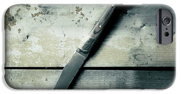 Weapon iPhone Cases - Knife iPhone Case by Joana Kruse