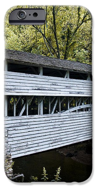 Knox Covered Bridge - Valley Forge iPhone Case by Bill Cannon