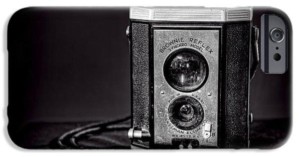 Con iPhone Cases - Kodak Brownie iPhone Case by Scott Norris