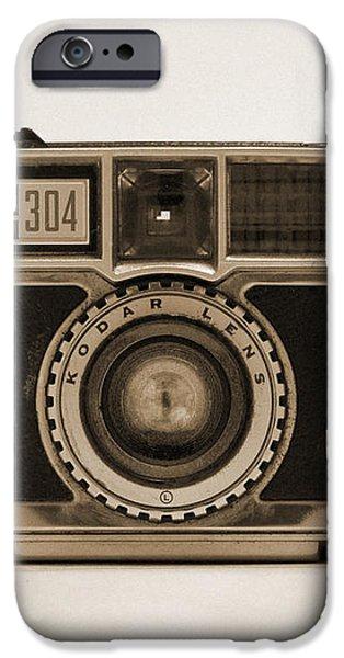 Kodak Instamatic Camera iPhone Case by Mike McGlothlen
