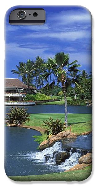 KoOlinas 18th Hole iPhone Case by Peter French - Printscapes