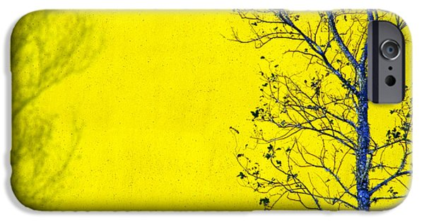 Tree iPhone Cases - Krishna iPhone Case by Skip Hunt