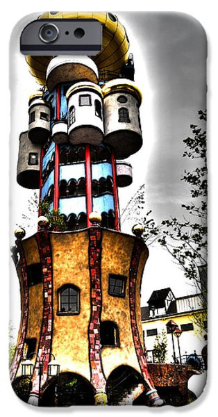 Architectur iPhone Cases - Kuchlbauer - Abensberg iPhone Case by Juergen Weiss