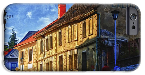 Small iPhone Cases - Kutna Hora iPhone Case by Joan Carroll