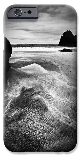 Kynance Cove Cornwall iPhone Case by Dorit Fuhg