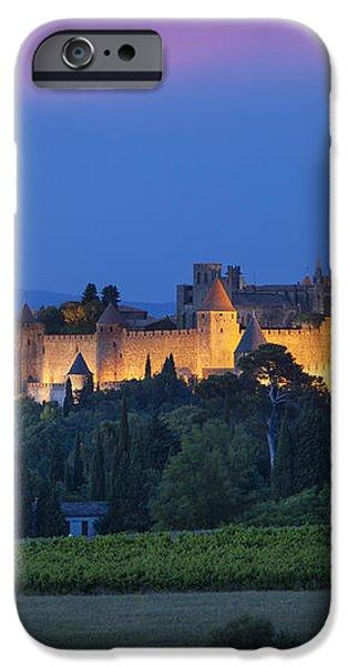 La Cite Carcassonne iPhone Case by Brian Jannsen