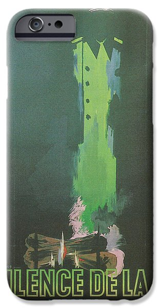 1950s Movies iPhone Cases - La Silence De La Mer iPhone Case by Nomad Art And  Design