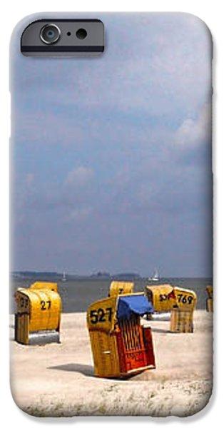 Laboe Beach ... iPhone Case by Juergen Weiss