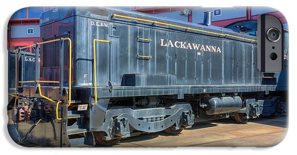 Historic Site iPhone Cases - Lackawanna Locomotive 426 iPhone Case by Clarence Holmes