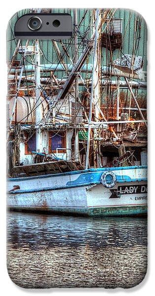 Lady De Ette iPhone Case by Michael Thomas