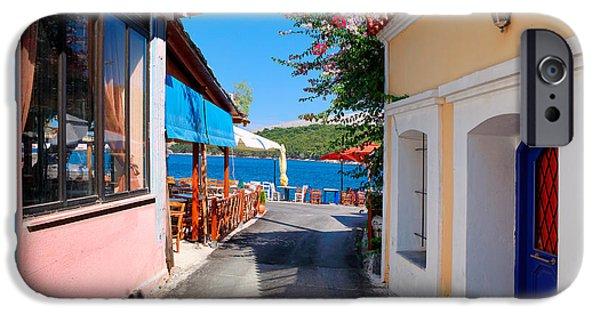 Mesta iPhone Cases - Lagada Chios Greece  iPhone Case by Emmanuel Panagiotakis