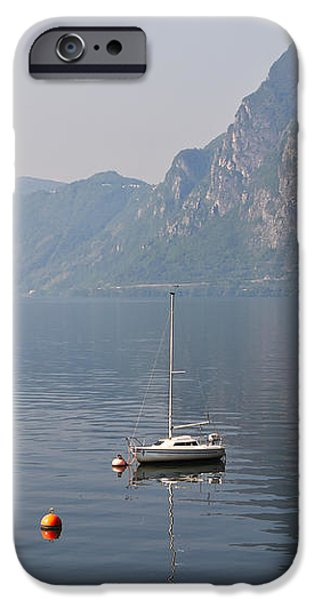Lago di Lugano iPhone Case by Joana Kruse