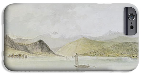 Sailing iPhone Cases - Lago Maggiore iPhone Case by Charles Gore