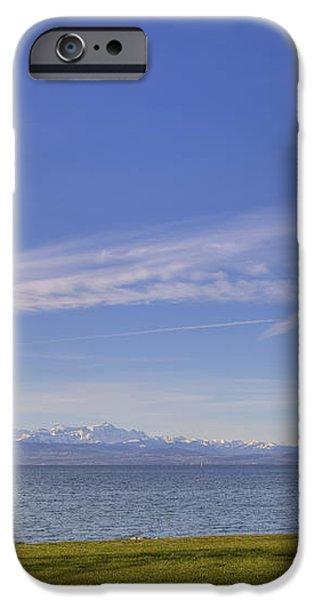 Lake Constace Friedrichshafen iPhone Case by Joana Kruse