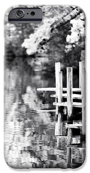 Lake Dock iPhone Case by John Rizzuto