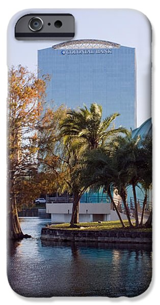 Lake Eola's  Classical Revival Amphitheater iPhone Case by Lynn Palmer