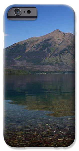 Lake Mcdonald Reflection Glacier National Park 2 iPhone Case by Marty Koch