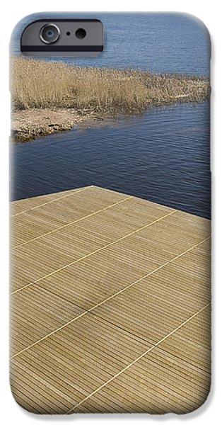 Lakeside Dock iPhone Case by Jaak Nilson