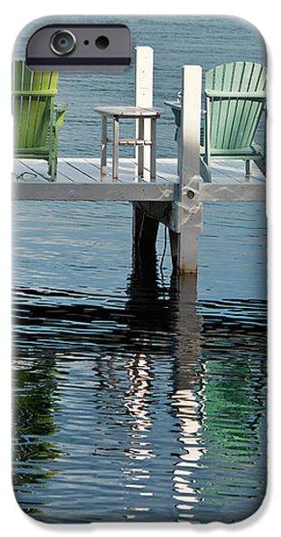 Lakeside Living iPhone Case by Steve Gadomski