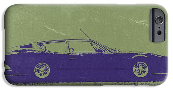 Concept iPhone Cases - Lamborghini Espada iPhone Case by Naxart Studio