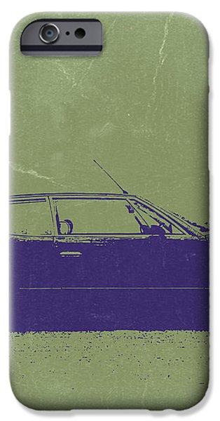 Lamborghini Espada iPhone Case by Naxart Studio