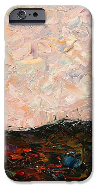 Land and Sky iPhone Case by James W Johnson