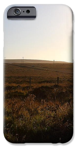 Landscape At Point Reyes California . 7D9958 iPhone Case by Wingsdomain Art and Photography