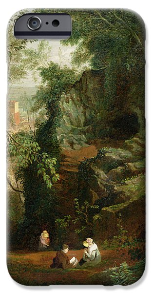 23 iPhone Cases - Landscape near Clifton iPhone Case by Francis Danby