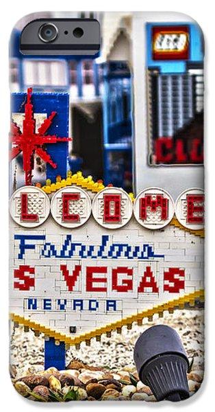 Las Legos iPhone Case by Nicholas Evans