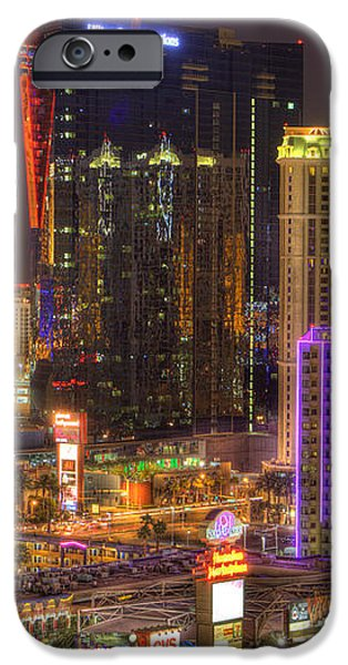 Las Vegas Nevada iPhone Case by Nicholas  Grunas