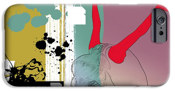 Seductive iPhone Cases - Last Dance iPhone Case by Naxart Studio