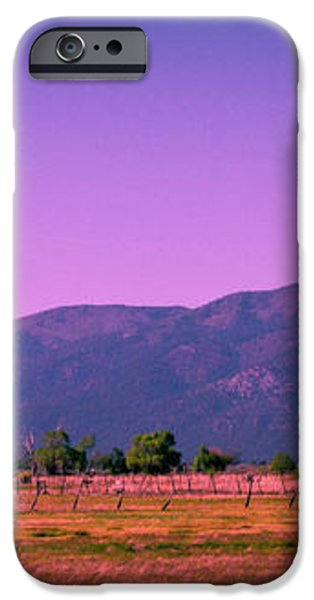 Late Afternoon in Taos iPhone Case by David Patterson