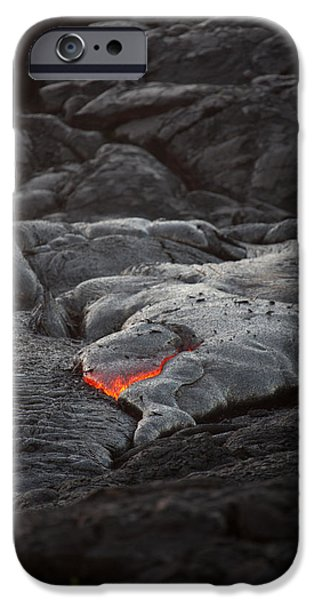 lava iPhone Case by Ralf Kaiser