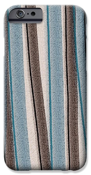 Lazy Stripes iPhone Case by Bonnie Bruno