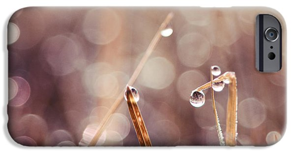 Rain iPhone Cases - Le Reveil - s04d2 iPhone Case by Variance Collections