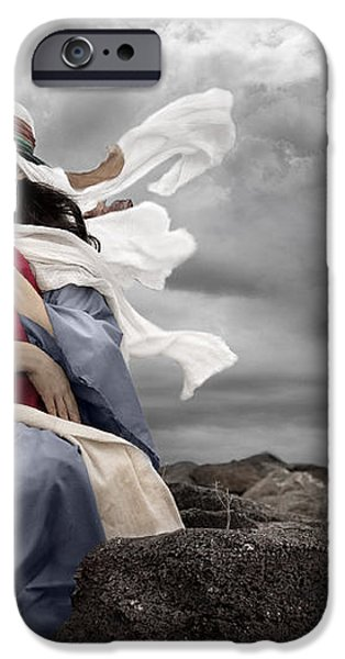 Leaving Bethlehem iPhone Case by Cindy Singleton