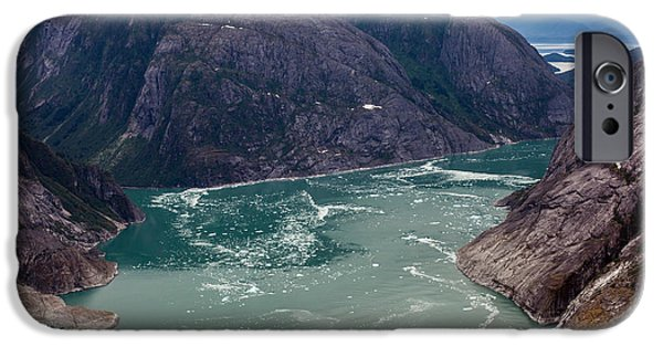 Norway iPhone Cases - LeConte Glacier iPhone Case by Mike Reid