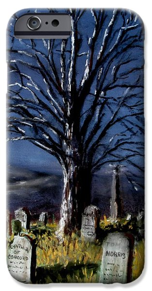 Final Resting Place iPhone Cases - Left Alone iPhone Case by Jack Skinner