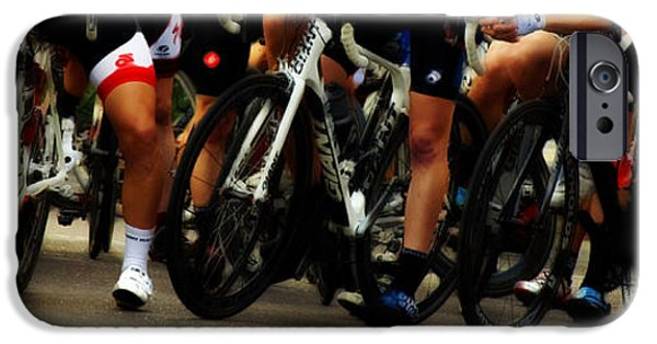 Racing iPhone Cases - Leg Works  iPhone Case by Steven  Digman