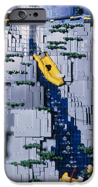 Lego Model And And Its Constructors iPhone Case by Volker Steger