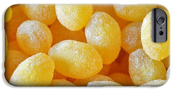 Lemon Drops iPhone Cases - Lemon Drops iPhone Case by Gwyn Newcombe