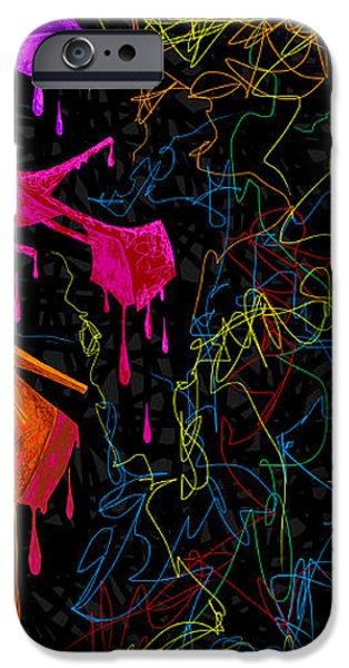 Les couleur des chaussures Numero 2 iPhone Case by Kenal Louis