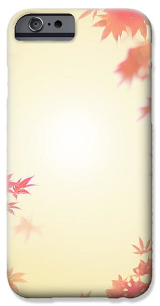 Let It Fall iPhone Case by Amy Tyler