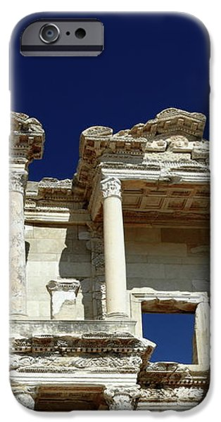 Library of Celsus in Ephesus iPhone Case by Sally Weigand